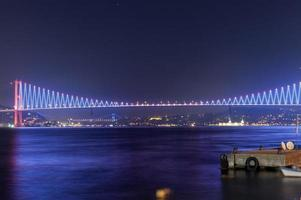 Bosphorus Bridge, Istanbul photo
