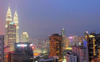 KL skyline photo