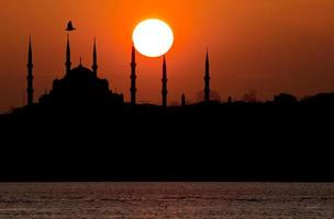 Blue Mosque in Istanbul photo