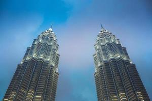 torre gemela petronas foto
