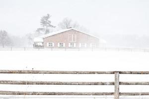 vallende sneeuw