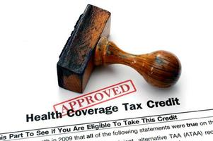 Health tax form photo