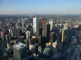 Aerial view of Toronto photo