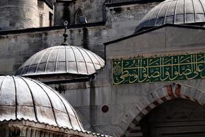 La mezquita azul en Estambul, Turquía