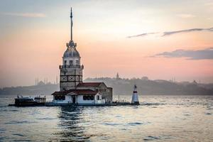 zonsondergang in Istanbul