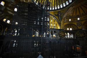 Hagia Sophia renovations
