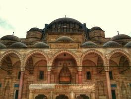 suleymaniye mosque photo