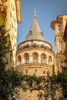 Galata Tower in Istanbul photo