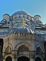 istambul, mosquée neuve, extérieur, atchitecture