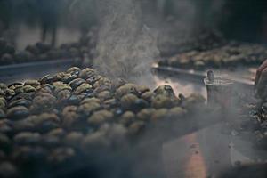 cozinhar castanhas