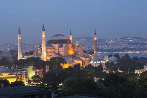 blauwe moskee en hagia sophia