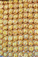 Traditional Turkish sweets on Egyptian bazaar of Istanbul
