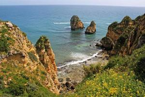 Algarve cliffs