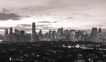 Manila at night photo