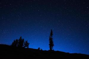Wyoming Night Sky photo