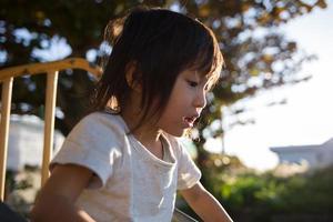 Playing child photo
