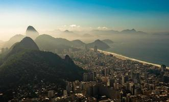 Rio de Janeiro dans la brume matinale