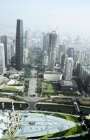View from Canton tower to Guangzhou city photo
