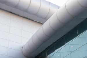 Convention building,blur photo