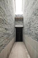 Chinese temple pathway photo
