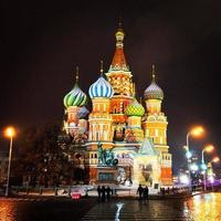 The colors of Moscow