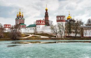 Novodevichy convent in Moscow photo