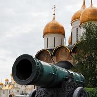 Tsar Cannon and Dormition Cathedral, Moscow photo