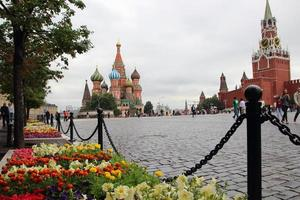 View of Red Square and St. Basil's Cathedral..