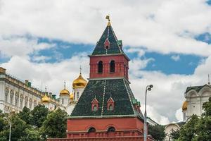 Moscow Kremlin Building in summer time photo
