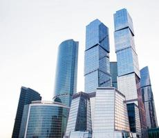 Modern office buildings photo