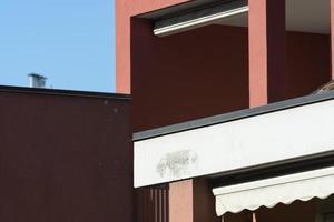 milán (italia): detalles arquitectónicos foto