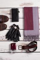 Men's accessories. photo