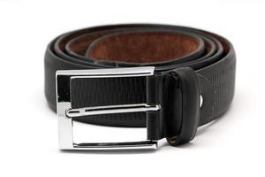 cinturón de cuero para hombre foto