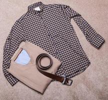 Modern men's clothing photo