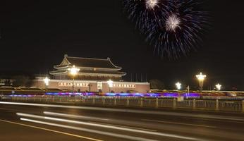 tian an men  in the holiday