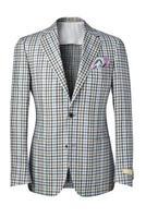 chaqueta para hombre aislada en blanco con trazado de recorte