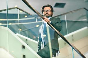 líder de negocios foto