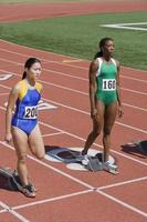 vrouwelijke atleten