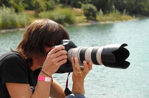 Female Paparazzi photo