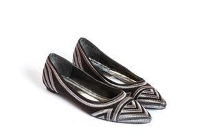 sapatos de couro feminino