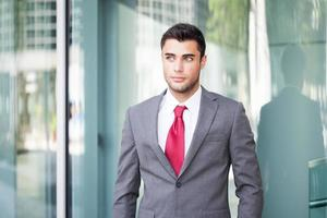 Businessman portrait photo