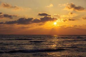 Sunset Sri Lanka photo