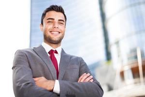 Business man portrait photo