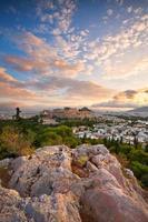 Acrópolis en Atenas.