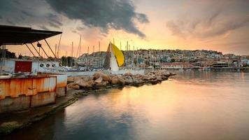 Mikrolimano marina in Piraeus, Athens.