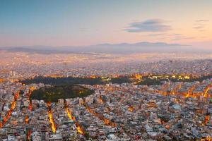 Atenas desde el monte Licabeto.