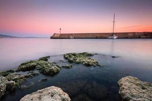 Boat in Mikrolimano marina, Athens. photo