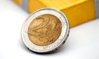dinero europeo foto