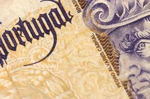 Portugal Paper Money photo