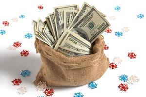 Bag full of money photo
